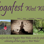 Sunday 12th May 2013 first Yogafest West Wales