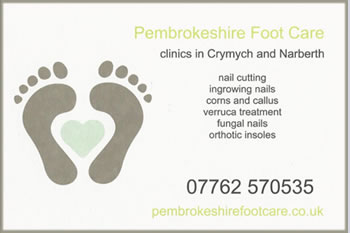 Pembrokeshire Foot Care Leaflet